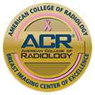 American College of Radiology - Breast Imaging Center of Excellence Logo