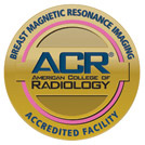 American College of Radiology - Breast Magnetic Resonance Imaging (MRI) Accredited Facility Logo
