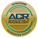 American College of Radiology - Ultrasound Accredited Facility Logo