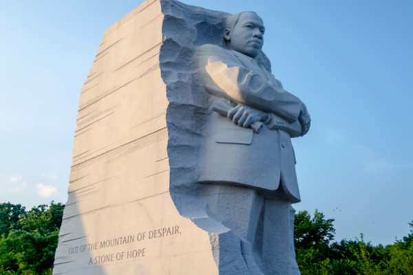 Martin Luther King Jr. statue